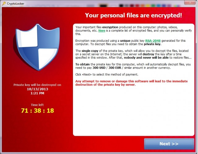 Ransomware: A Modern Day Threat to your Company's Data